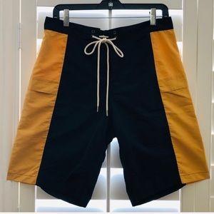 WRK MATERIALS CO⚡️ColorBlock Side Pockets Shorts_M